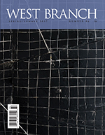 front cover of West Branch Spring/Summer 2017, Vol. 84