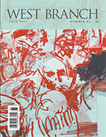 Cover of West Branch 85, Fall 2017